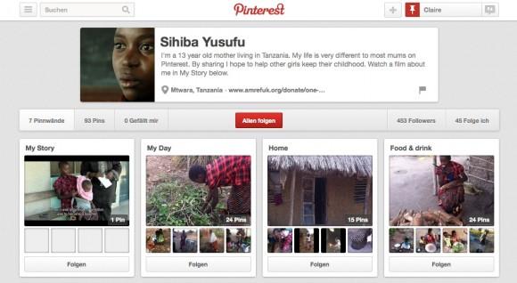 AMREF Shihiba Pinterest