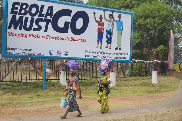 Ebola must go